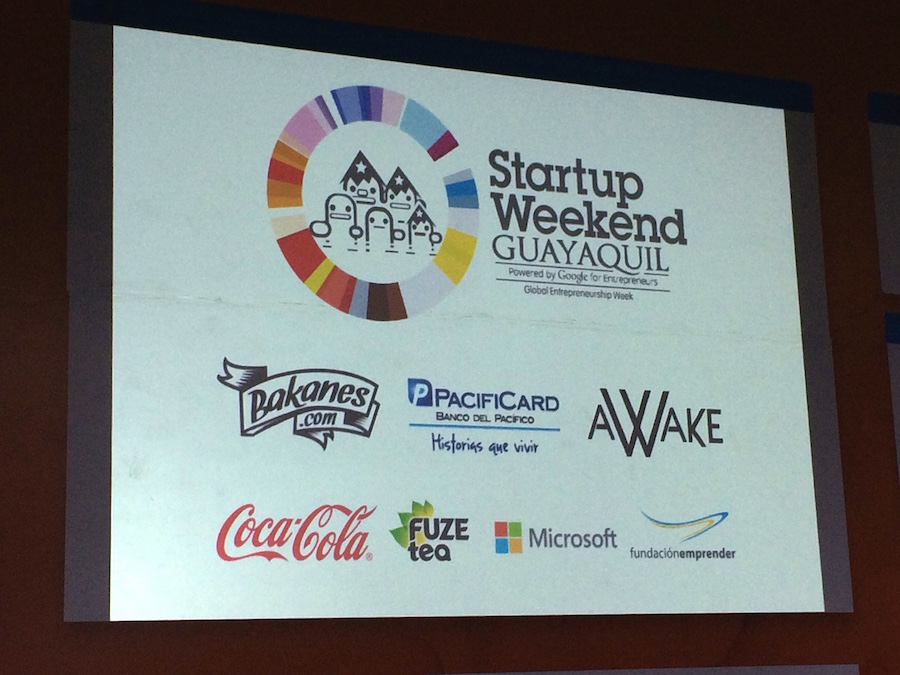 Startup weekend Guayaquil - CPQuito